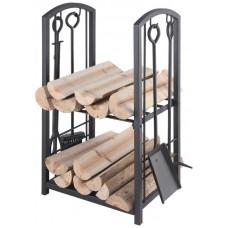 Koš na dřevo s nářadím LIENBACHER LB 21.00.208.2