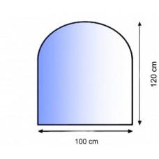 Podkladové tvrzené sklo pod kamna Lienbacher 21.02.880.2